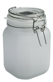 Nexus - Frosted Solar Jar - Medium