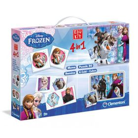 Disney Frozen 4-In-1 Edukit