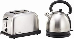Russell Hobbs - Brushed Stainless Steel Breakfast Pack