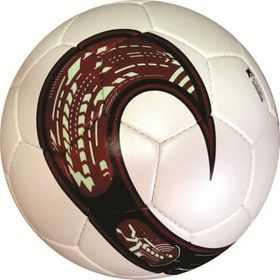 Medalist Exact Soccer Ball - White/Red - Size 5