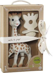 Sophie La Giraffe - Set Original Rubber Toy and Natural Teether