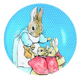 Petit Jour Paris - Peter Rabbit Blue Dots Small Plate