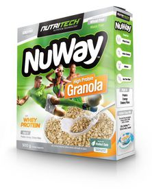 Nutritech Nuway Single Unit: Energy Oats: High Protein Original Granola 500g