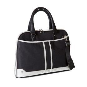 """BLACK Ladies 15.6"""" shoulder sling case - Black"""