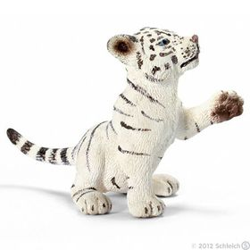 Schleich Tiger Cub, White, Playing