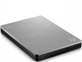 "Seagate 2.5"" Backup Plus Portable Drive - 2TB Silver"