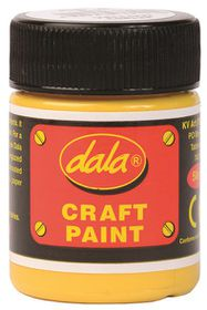 Dala Craft Paint 50ml - Yellow