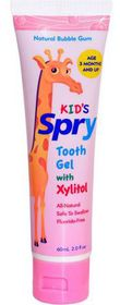Spry - Tooth Gel - Natural Bubblegum
