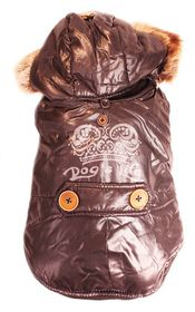 Dog's Life - Royale Parka Jacket With Hood Black - Extra Small
