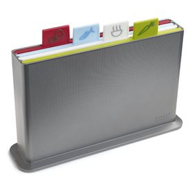 Joseph Joseph Index Large Chopping Board - Silver