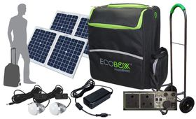 Ecoboxx - 600 Portable Solar Power Kit