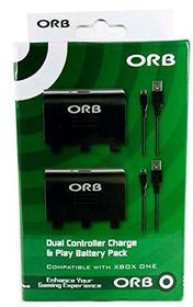 OBR - Dual Controller Charge And Play Battery Pack (XBox One)