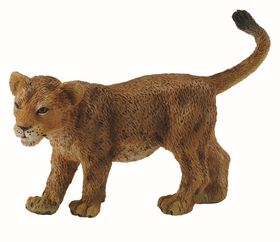 Collecta Wild Lion Cub Walking - Small