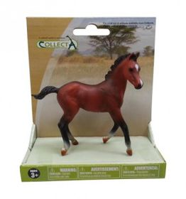 Collecta Horse Quarter Horse Foal - Bay - Medium