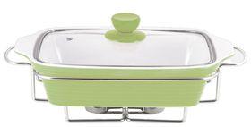 Wellberg - Rectangle Food Warmer - Green