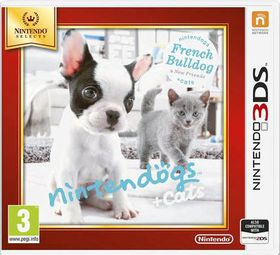 Nintendogs + Cats - French Bulldog & new Friends Select (3DS)
