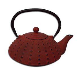 Regent - Cast Iron Chinese Teapot - Terracotta- 600ml