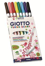 Giotto Turbo Scent 8 Fibre-Tip Pens