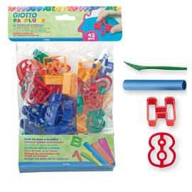 Giotto Patplume Numbers & Letters Clay Cutters