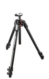 Manfrotto 055 Carbon Fibre 3-Section Tripod Black