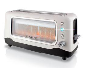 Taurus - Tostadora Vidre 2 Slice Glass Toaster