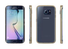 Body Glove Clownfish Aluminum Case for Galaxy S6 Edge - Clear & Gold