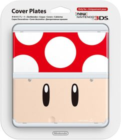 Nintendo - New Nintendo 3DS Coverplate - Red Toad (3DS)