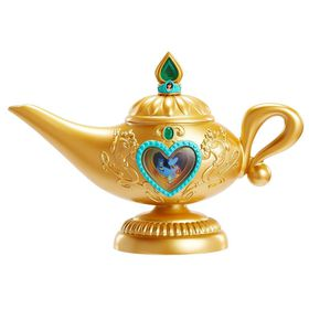 Disney Princess Aladdin Genie Lamp With Light