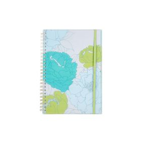 Meeco Floral A5 80 Ruled Sheets Spiral Bound Notebook