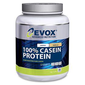 Evox 100% Casien Protein Vanilla - 1kg