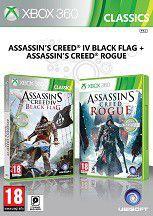 Compilation AC4 Black Flag + AC Rogue (Xbox 360)