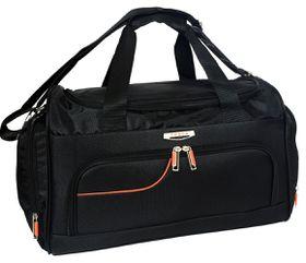 Tosca Gold Ultra Light Travel Bag 50cm - Black & Orange
