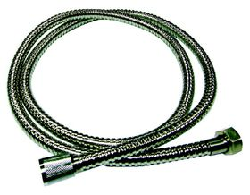 The Bathroom Shop - Stainless Steel Shower Hose - 1.5M