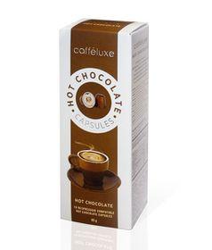 Caffeluxe Hot Chocolate Capsules