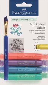 Faber-Castell Gelatos - 4 Metallic Colours