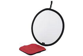 Manfrotto 60cm Circular Panel Reflector - Silver & White
