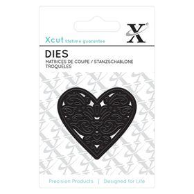 Xcut Mini Die - Filigree Heart (1 Piece)