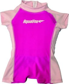 Aqualine - Girls Suit Pink (Size 2-3 years)