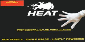 Heat Pro Salon Vinyl Gloves - 20 Pairs