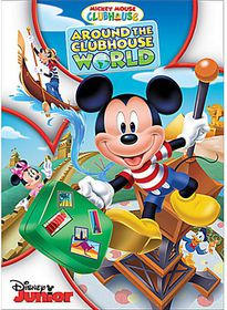 Mickey Mouse Clubhouse: Around The Clubhouse World (DVD)