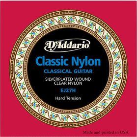 D'Addario EJ27H Student Nylon Hard Tension Classical Guitar Strings