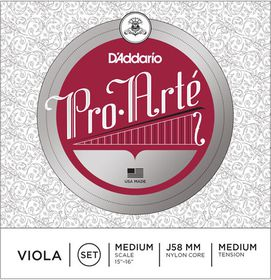 D'Addario Pro-Arte Medium Tension Medium Scale Viola String