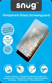 Snug Tempered Glass Screenguard - Nokia 535