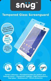 Snug Tempered Glass Screenguard - Sony Xperia C3