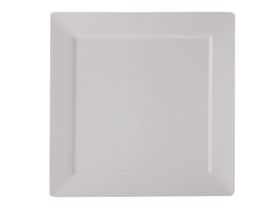 Maxwell and Williams White Basics Cosmopolitan Square Platter - 35cm