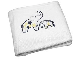 LittleCo - Cellular Blanket - Elephant