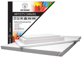 Artboard Canvas 3D Box Canvas - 8 x 8""
