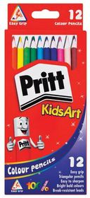 Pritt KidsArt 12 Colour Pencils