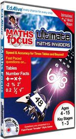 Maths Focus - Ultimate Maths Invaders (PC)