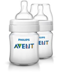 Avent - Classic Plus - Airflex Feeding Bottles - 125ml